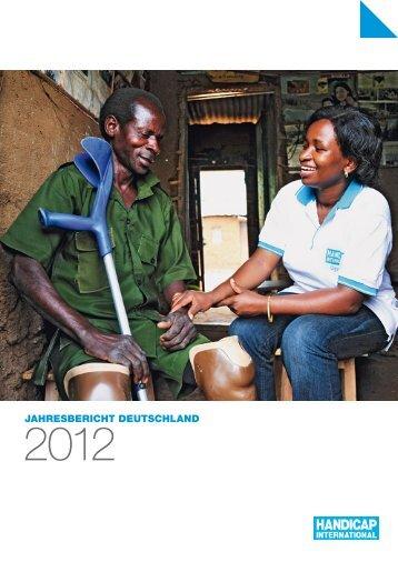 Jahresbericht 2012 - Die Stiftung