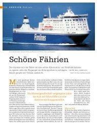 TOURS: Fähren 2010 - Dietrich Hub