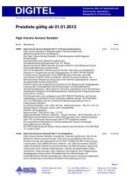 List & Label Preview File - Digitel Elektronik AG