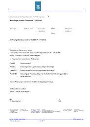 Aktuelle Preisliste 01 2014 - Dillinger Hütte GTS