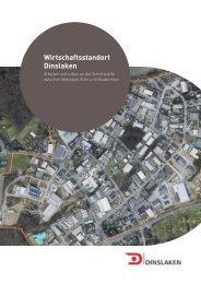 Broschüre Wirtschaftsstandort Dinslaken