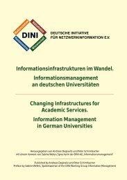 Informationsinfrastrukturen im Wandel ... - DINI