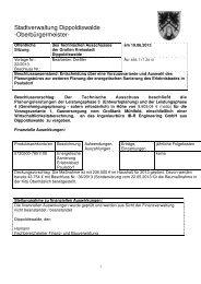Technischer Ausschuss - Dippoldiswalde