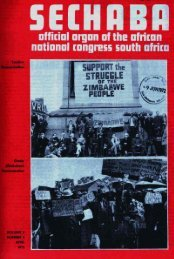 Sechaba Volume 6 Number 4 April 1972 - DISA