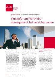 Verkaufs- und Vertriebs- management bei ... - BearingPoint