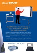 Cleverboardtm - Sahara Presentation Systems - Page 2