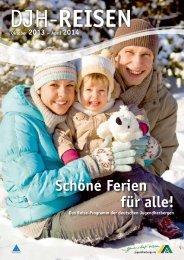 DJH-Reisen Winter 2013/2014 - DJH Service GmbH