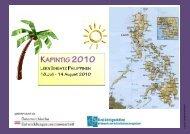 Reisebericht 2010
