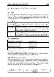 Qualitätsmanagement-Handbuch DKD