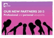 Our New PartNers 2013 Professional - DLA Piper