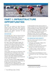PART 1: INFRASTRUCTURE OPPORTUNITIES - DLA Piper