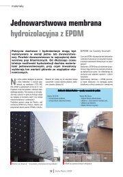 Jednowarstwowa membrana hydroizolacyjna z ... - APK Dachy Zielone