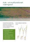 Læs meget mere om jordbrugskalk og kalkens gode virkninger ... - dlg - Page 2