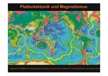 Plattentektonik und Vulkanismus