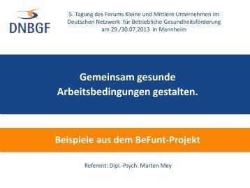 deutsches netzwerk fr betriebliche gesundheitsfrderung - Betriebliche Gesundheitsforderung Beispiele