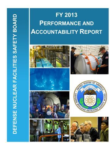 FY 2013 - Defense Nuclear Facilities Safety Board