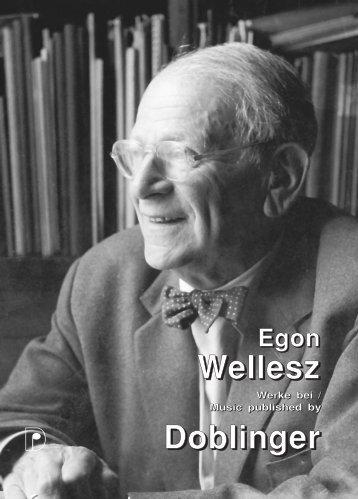 pdf - Datei, Wellesz Egon - Doblinger