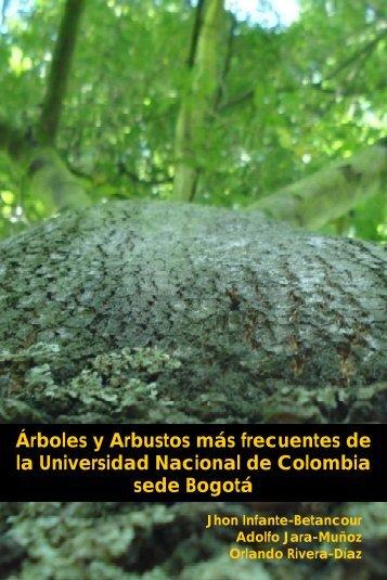 Arboles y arbustos Ciudad Universitaria - Docentes.unal.edu.co ...