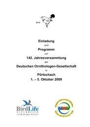 Einladung Programm 142. Jahresversammlung Deutschen ... - DO-G