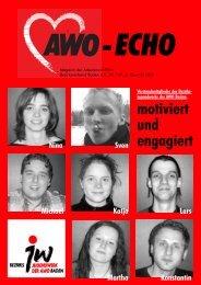 3. Quartal 2004 | Awo-Echo Ausgabe 147 - AWO Baden