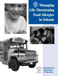 Managing Life Threatening Food Allergies In Schools
