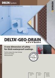 Product Information DELTA®-GEO-DRAIN Quattro