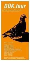 Programmheft DOK.tour 2013 als PDF - DOK.fest München