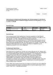 Die Verlängerung der Geltungsdauer der ... - Stuttgart