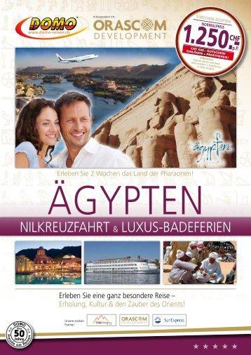 Nilkreuzfahrt + Luxus-Badeferien - Domo Reisen
