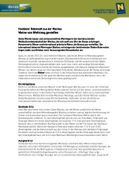 Pressetext zum Download - Donau Niederösterreich Tourismus GmbH