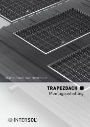 TRAPEZDACH - Donauer Solartechnik Vertriebs GmbH