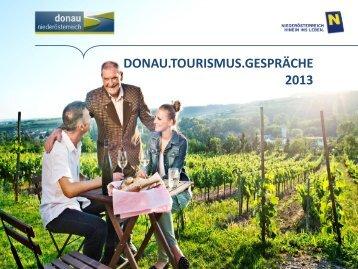 Präsentation der Donau Niederösterreich zum Download