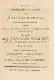 Mag. JOHANNE BILMARK, - Doria