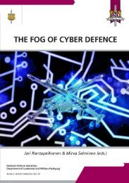 The Fog of Cyber Defence - Doria