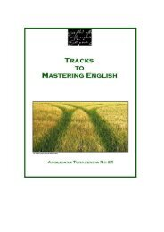 Tracks to Mastering English: Introduction - Doria