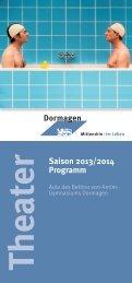BvA-Theaterheft _2013_11 - Stadt Dormagen