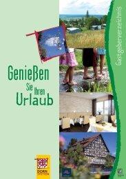 Gastgeberverzeichnis (PDF) - Dornstetten