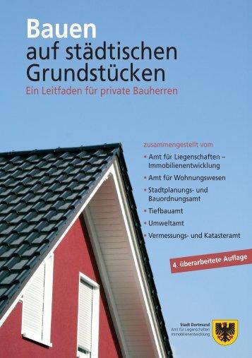 Bauherrenbroschüre [pdf, 3,6 MB] - Stadt Dortmund