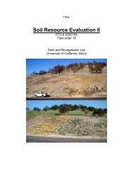 Soils Resource Evaluation II, 2008 - Caltrans
