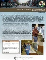 Newsletter #6 - Illinois Department of Transportation