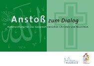 Anstoß zum Dialog - Bistum Hildesheim