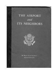 THE AIRPORT and ITS NEIGHBORS - Minnesota Department of ...