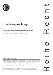 Urteilsbesprechung - Fachverband Gebäude-Klima e. V.