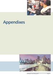 Appendixes - Department of Planning and Community Development