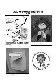 Lisa, Abenteuer einer StaVo