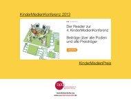 interaktiven Reader zur Konferenz - Drehscheibe