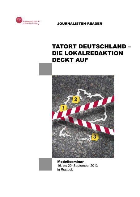 TaTorT DeuTschlanD – Die lokalreDakTion DeckT auf - Drehscheibe