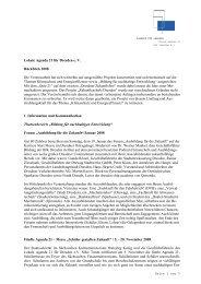 Lokale Agenda 21 für Dresden e. V. Rückblick 2008 Die ...