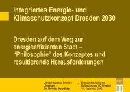 Dr. Christian Korndörfer - Dresdner Agenda 21