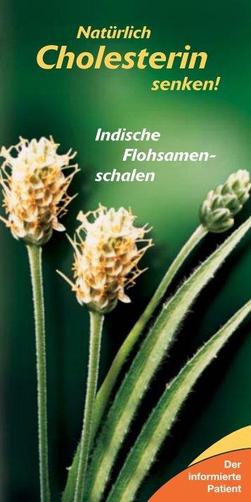 Natürlich Cholesterin senken! - Dr. Falk Pharma GmbH